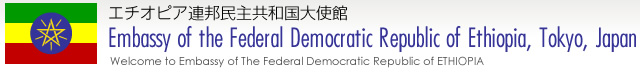 駐日エチオピア大使館|EMBASSY OF THE FEDERAL DEMOCRATIC REPUBLIC OF ETHIOPIA,TOKYO,JAPAN